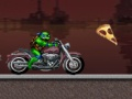 Game Teenage Mutant Ninja Turtles Ninja Turtle bicicleta. Jogar online